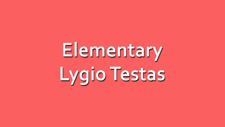 Anglų Kalbos Elementary Lygio Testas